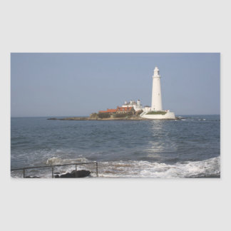 St Mary's Lighthouse, Whitley Bay Stickers