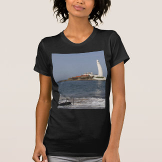St Mary's Lighthouse, Whitley Bay T-Shirt