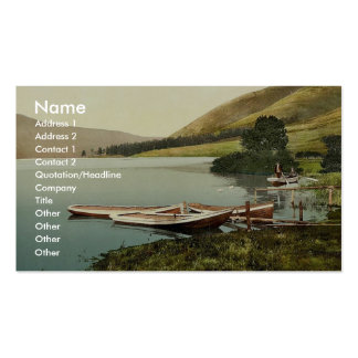 St. Mary's Loch, Moffat, Scotland classic Photochr Double-Sided Standard Business Cards (Pack Of 100)