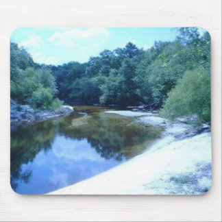 St. Marys river bend Mouse Pad