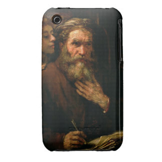 St. Matthew and The Angel, 1655-60 (oil on canvas) Case-Mate iPhone 3 Case