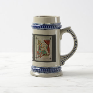St. Matthew By Meister Des Book Of Lindisfarne (Be Mug