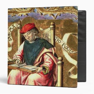 St. Matthew: Detail of Altarpiece Vinyl Binders