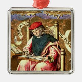 St. Matthew: Detail of Altarpiece Metal Ornament