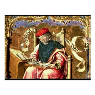 St. Matthew: Detail of Altarpiece Postcard