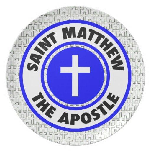 St Matthew el apóstol Plato De Cena