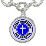St Matthew el apóstol Pulsera Con Dije