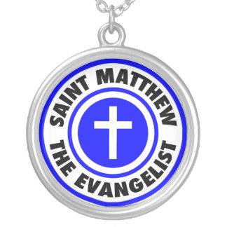 St Matthew el evangelista Colgante Redondo