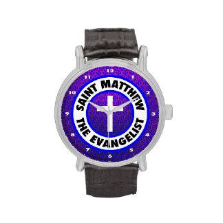 St Matthew el evangelista Relojes De Mano
