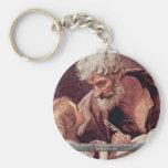 St Matthew el evangelista y el ángel Llaveros Personalizados