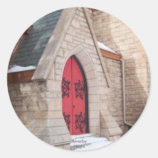 St. Matthew Episcopal Cathedral Round Stickers