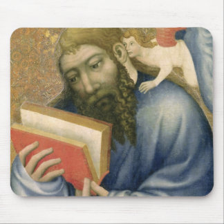 St. Matthew, from the chapel of Karlstejn Mouse Pad