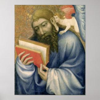 St. Matthew, from the chapel of Karlstejn Poster