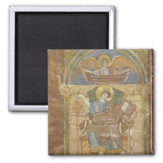 St. Matthew, from the Gospel of St. Riquier Magnet