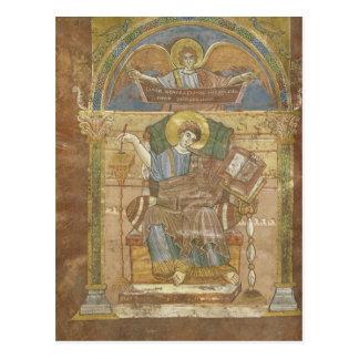 St. Matthew, from the Gospel of St. Riquier Postcard