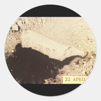 St. Matthew Island, Bering Sea Round Sticker