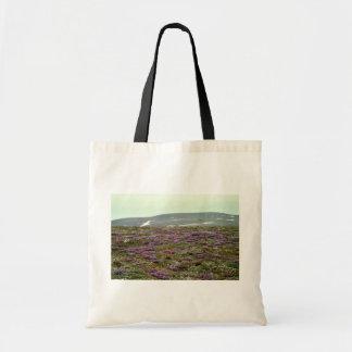 St. Matthew Island, Blackish (or Purple) Oxytrope Canvas Bag
