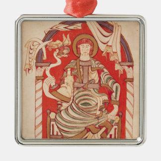 St. Matthew Metal Ornament