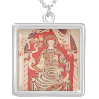 St. Matthew Silver Plated Necklace