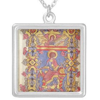 St. Matthew Square Pendant Necklace