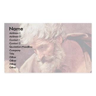 St. Matthew The Evangelist And The Angel Business Cards