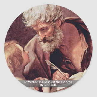 St. Matthew The Evangelist And The Angel Stickers