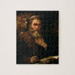St Matthew y el ángel, 1655-60 (aceite en lona) Rompecabeza Con Fotos