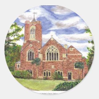 St.Matthews Chelston Round Sticker