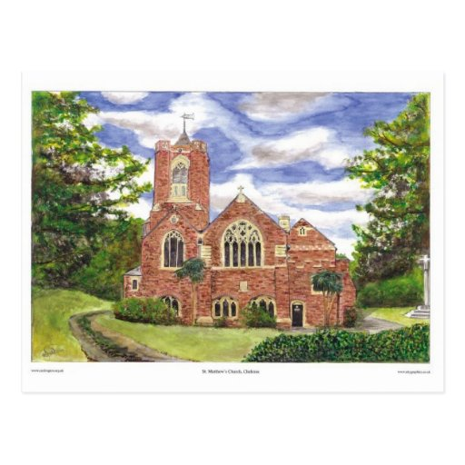 St.Matthews Chelston Tarjetas Postales