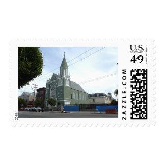 St. Matthews Church Postage Stamp