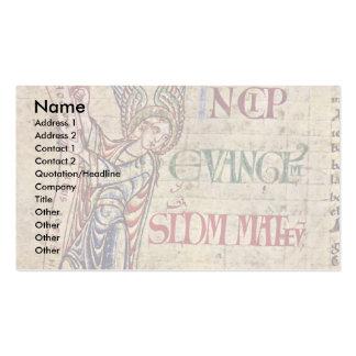 St. Matthew'S Details By Meister Der Harding-Bibel Business Cards