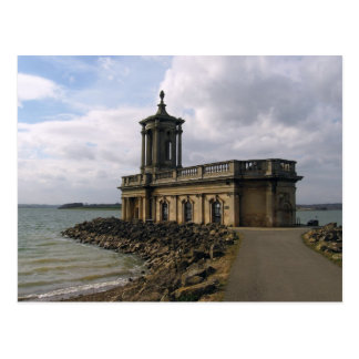 St Matthews Normanton Church, Rutland, England Postcard