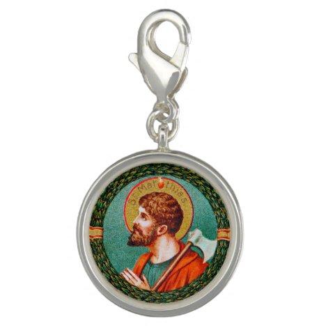 St. Matthias the Apostle (JMAS 09) Round Charm