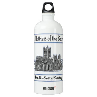 """""""St. Mattress Of The Springs"""" Church Water Bottle"""