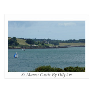 St Mawes Castle By OllyArt Photography Postcard