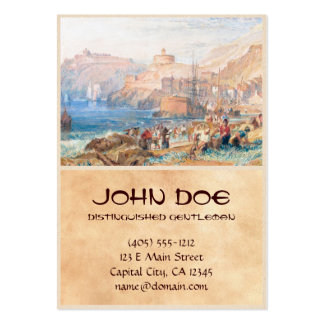 St. Mawes, Cornwall Joseph Mallord William Turner Large Business Cards (Pack Of 100)