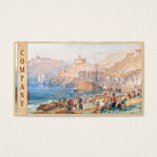 St. Mawes, Cornwall Joseph Mallord William Turner Business Card