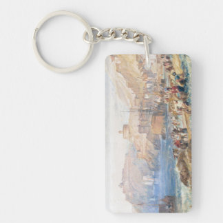 St. Mawes, Cornwall Joseph Mallord William Turner Double-Sided Rectangular Acrylic Keychain