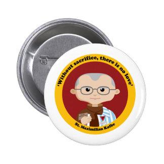 St. Maximilian Kolbe Button