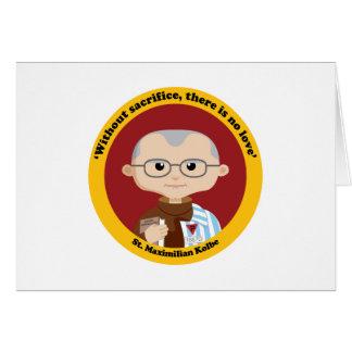 St. Maximilian Kolbe Greeting Cards