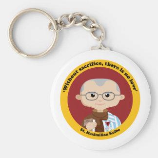 St. Maximilian Kolbe Key Chain