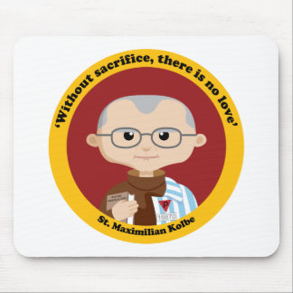 St. Maximilian Kolbe Mouse Pad