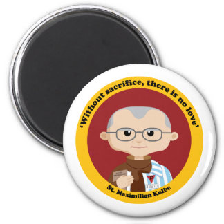 St. Maximilian Kolbe Refrigerator Magnets