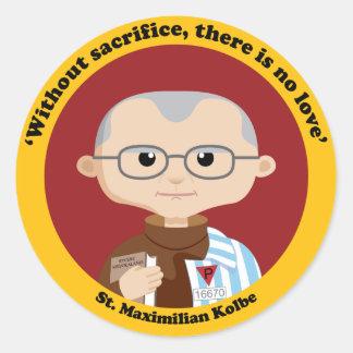 St. Maximilian Kolbe Sticker