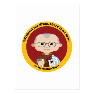 St. Maximiliano Kolbe Tarjeta Postal