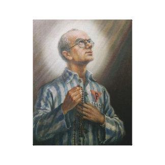 St Maximillian Kolbe, Impresión En Lienzo