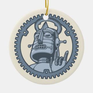 St. Metallicus Ceramic Ornament