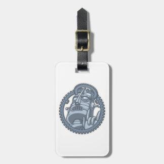 St. Metallicus Luggage Tag