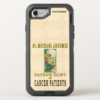 St. MICHAAEL ARGEMIR (Paton St of Cancer Patients) OtterBox Defender iPhone 7 Case