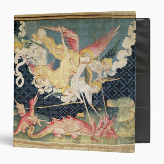 St. Michael and his angels fighting the dragon Binder